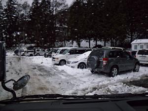 宮城ゲート臨時駐車場