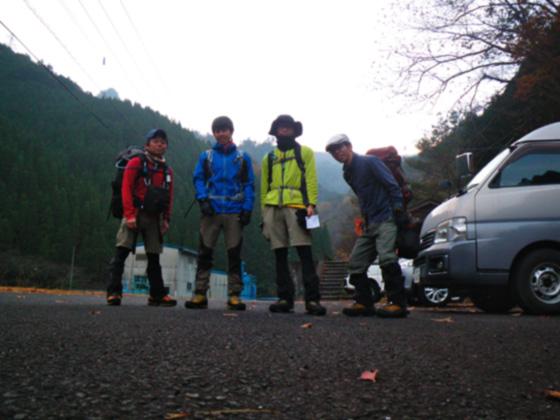 九折登山口スタート
