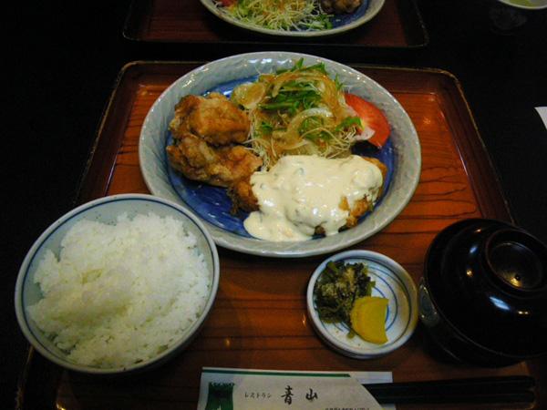 初レストラン青山