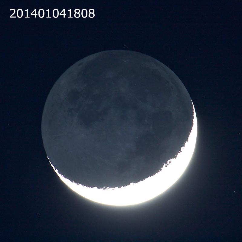 140104_四日月(地球照)