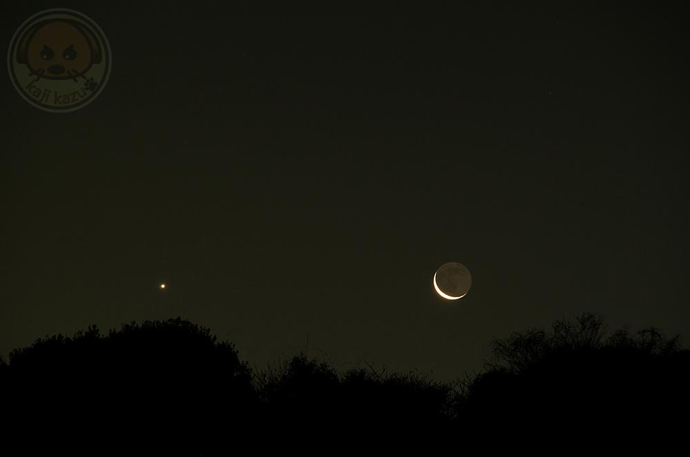 二十九夜と金星